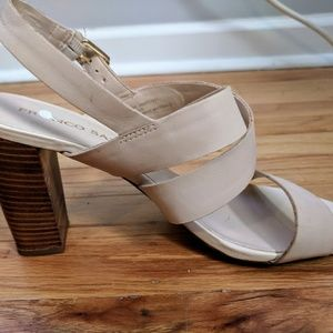 Franco Sarto Strapped High-Heeled Sandals